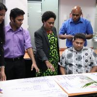 Participant from IATA training conducted in Vanuatu.